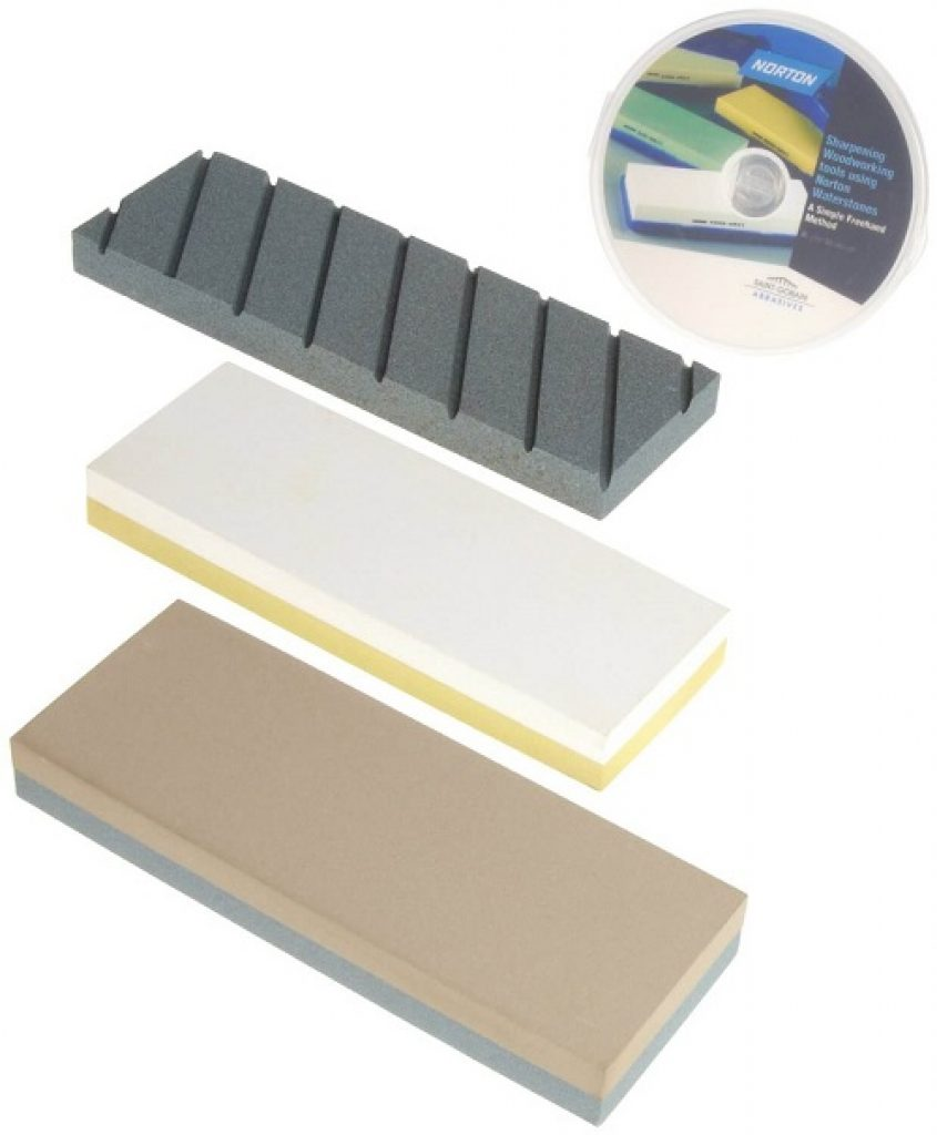 Norton Waterstone Starter Kit 2201000 grit stone, 40008000 grit stone, SiC flattening stone Review