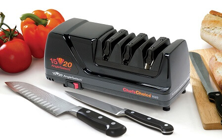 Chef's Choice 1520 Electric knife Sharpener - lifestyle