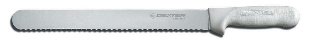 Dexter 13463 12-Inch Silver Sani-Safe Scalloped Roast Slicer Knife