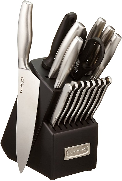 Cuisinart 17-Piece Artiste Collection Cutlery Knife Block Set