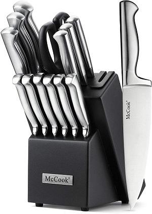 McCook MC21 knife block set