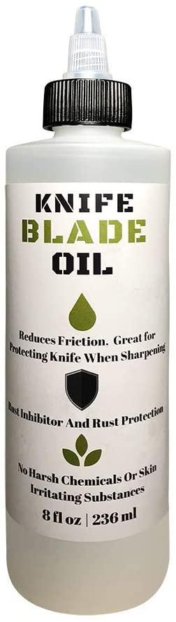Premium Knife Blade Oil & Honing Oil - 8 Oz