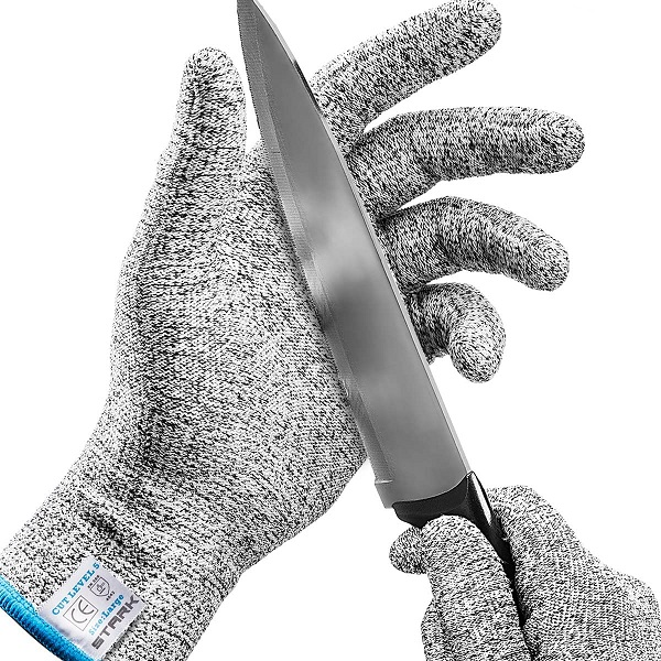 Stark Safe Cut Resistant Gloves (1 Pair) Food Grade Level 5 Protection