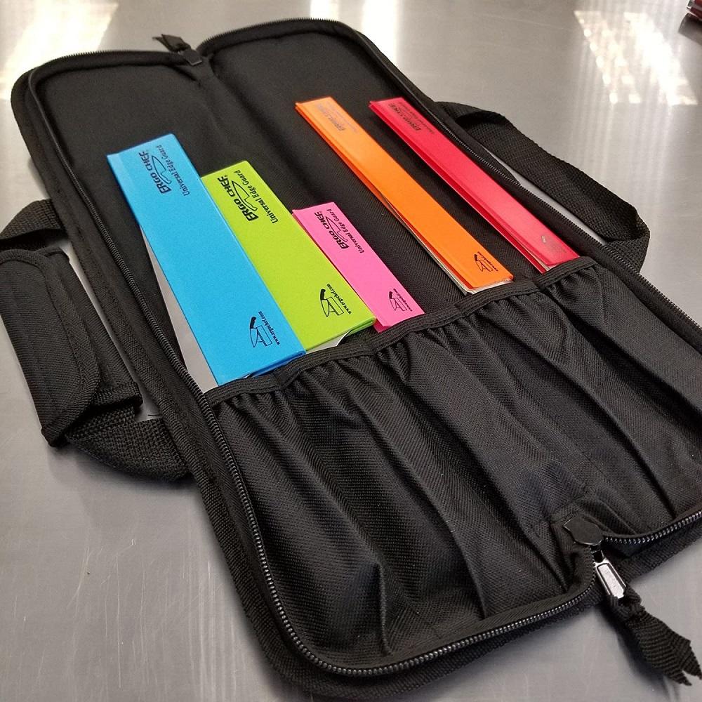 Ergo Chef Gear 5-Pocket Padded Chef's Knife Roll Bag
