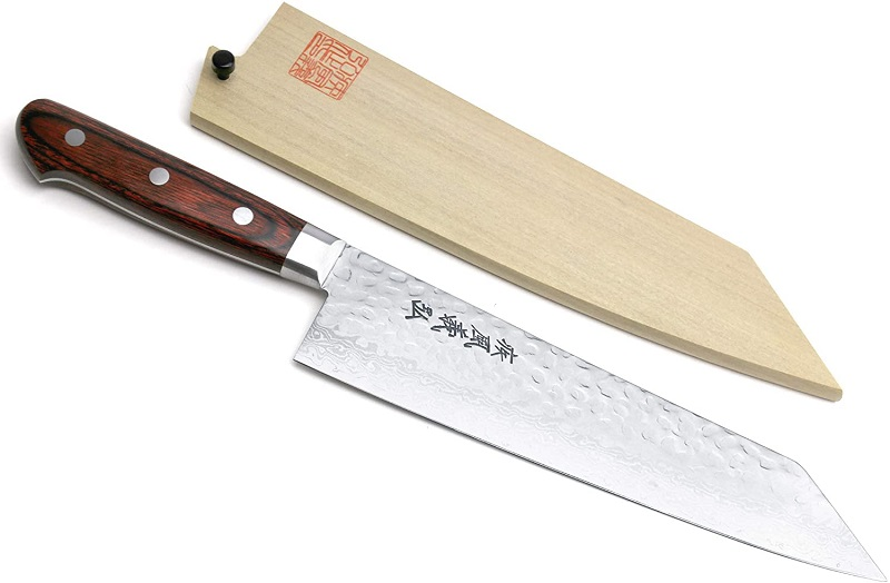 Yoshihiro VG-10 Damascus Kiritsuke Knife
