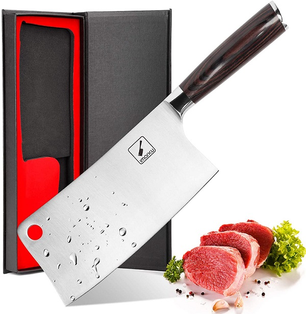 Imarku 7-inch Meat Cleaver