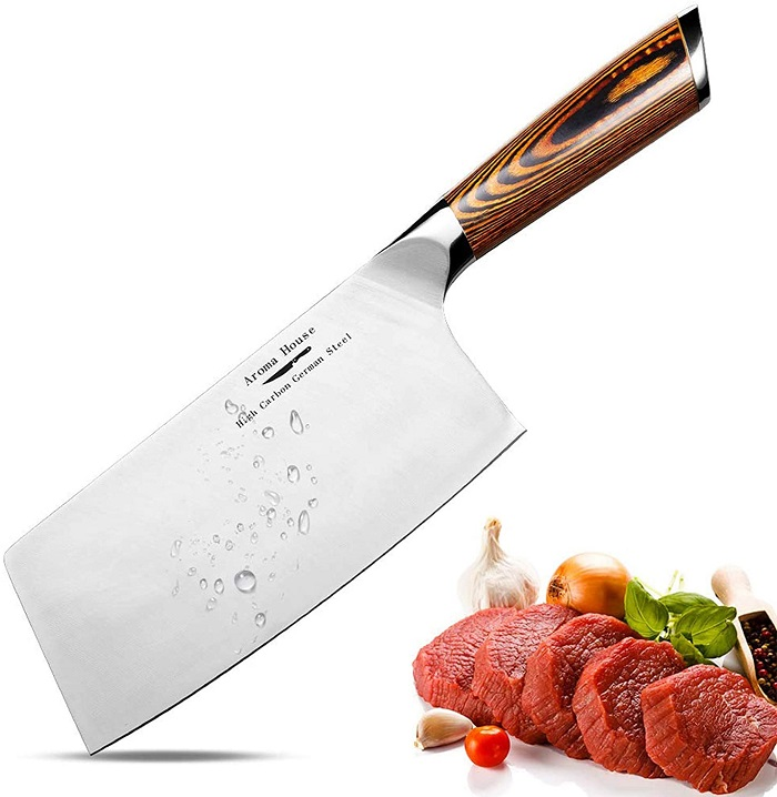 Meat Cleaver,7 inch Vegetable and Butcher Knife