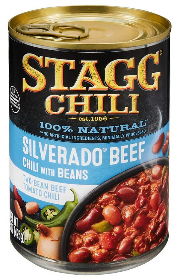 Stagg Silverado Beef Chili with Beans, 15 Ounce (