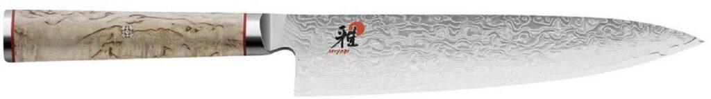 Miyabi Chef's Knife, 8-Inch, Birch/Stainless Steel